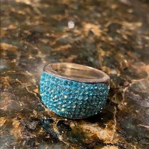 Sterling Crystal Ring